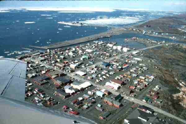 Taking off from Nome, AK to Gambell, St. Lawrence Island