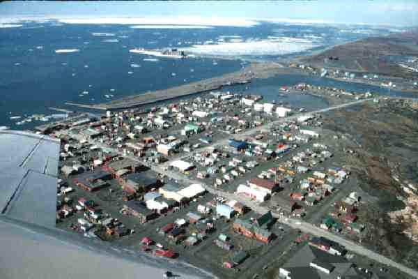 Anchorage to Nome Alaska